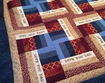 Fathers Day Quilt