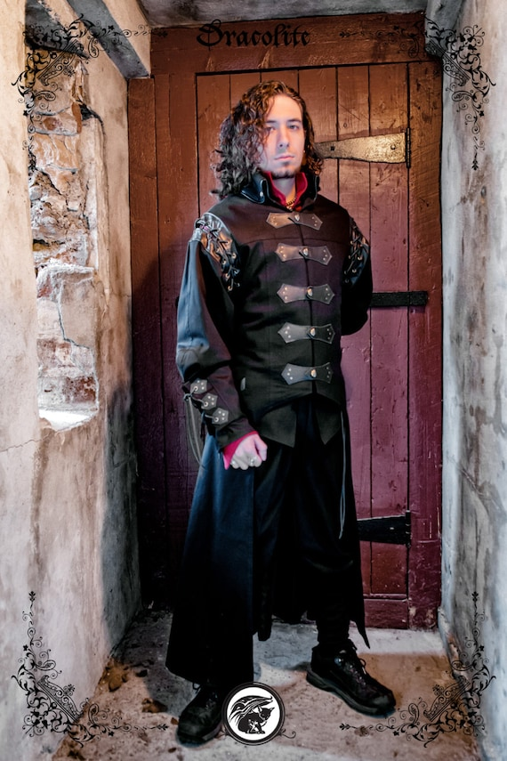 Sir Jones Jacket Medieval Clothing For Men Larp Costume And