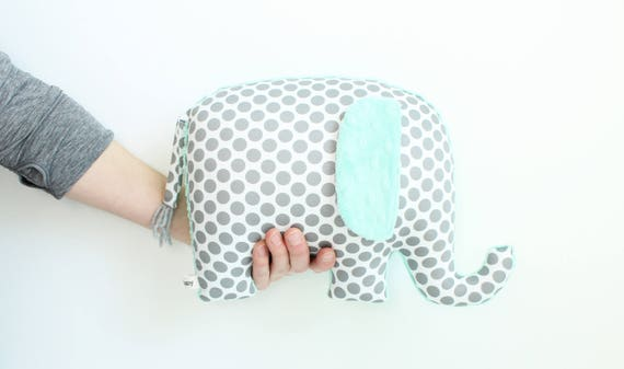 Elephant decor for nursery modern nursery decor mint nursery like this item negle Image collections