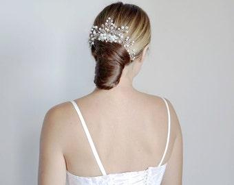 Wedding hair comb.Silver Bridal hair comb.Wedding Hair Accessories.Bridal comb.Wedding hair comb/ Bridal Headpiece