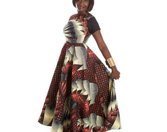 Ankara dress, African dress, Ankara maxi dress, African dress, African print dress