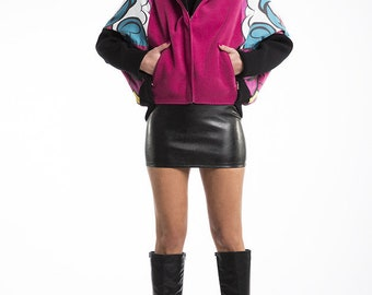 Spring Jacket Aqualoopa Pink