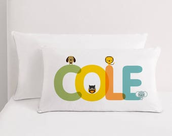 Personalized name pillow, Nursery Gift, Kids Decor, baby gift,, Kids Pillow, Home decor, Children Room Decor, Baby room decor