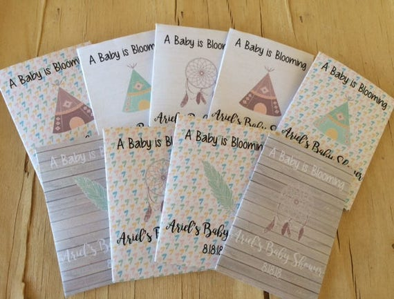 Baby Shower Favors Seeds ~ Teepee baby shower seed packet favors tee pee baby shower