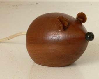 Blind Mice - Cute Mice Ornaments - Made From Iroko and Mahogany Hardwoods