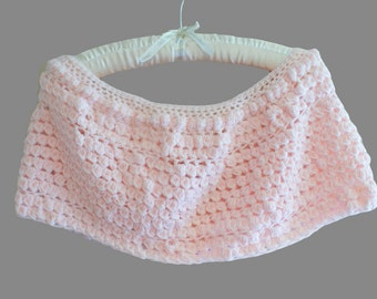 Crochet Capelet, Pink Bridal Capelet, Pink Cloak, Bridal Shawl, Womens Poncho, Womens Shawl, Crochet Shawl, Womens Shawlette, Spring P