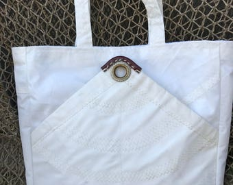 Recycled Sailcloth Tote Bag