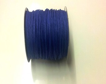 3 meters of cord blue brass paper - T2