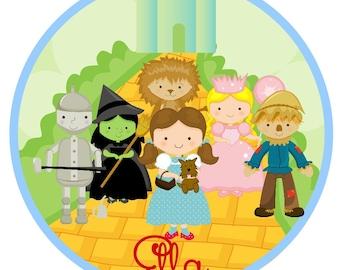 Iron On Wizard of Oz The Whole Crew