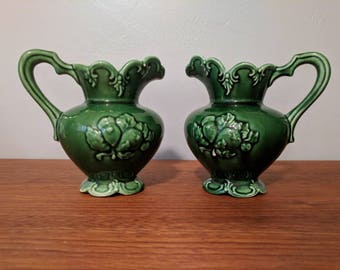 Vintage BOGO - Camark #224 Green Pitcher