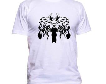 Vector for T-shirts Venom vinyl textile for Cricut or Silhouette cameo