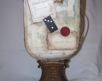 Handmade Aceo Collage / Sculpture
