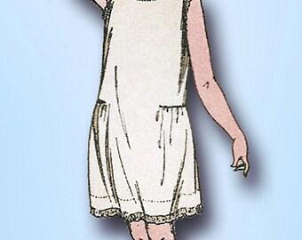 1920s Vintage Butterick Sewing Pattern 4159 Easy Little Girls Slip Size 12 29 B