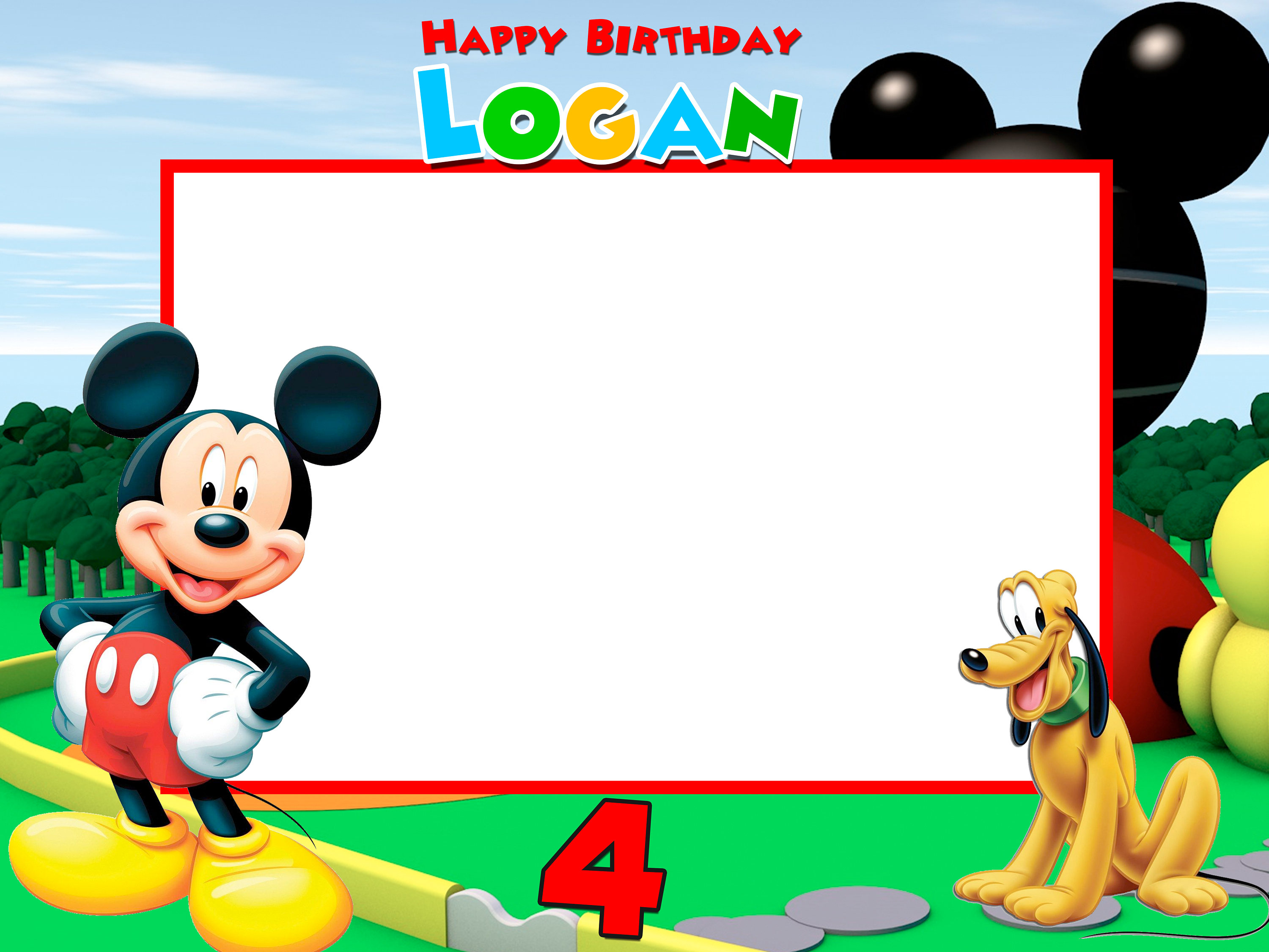 zoom - Mickey Mouse Picture Frames