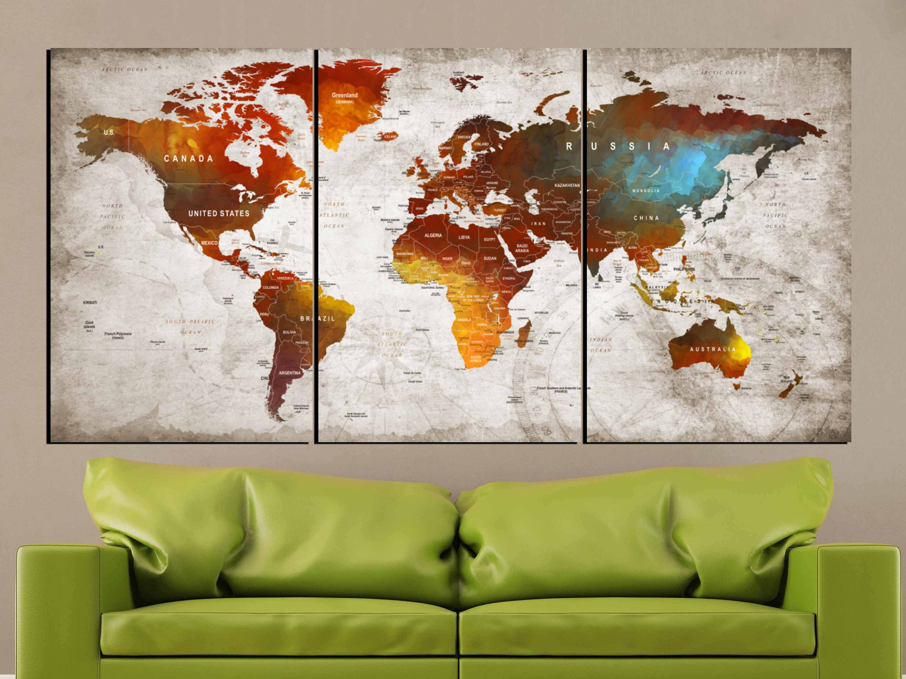 World on fire artworld map artworld map canvas panelsworld map gallery photo gallery photo gallery photo gallery photo gumiabroncs Images