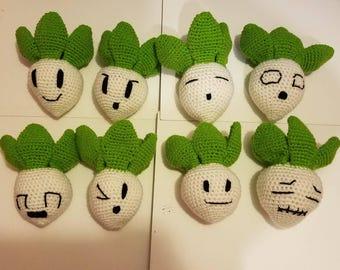 Peach's 8 Turnips