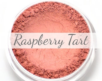 "Mineral Blush Sample - ""Raspberry Tart"" (bright raspberry pink blush, matte finish) - Vegan"
