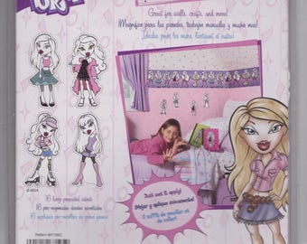 Retro Bratz Wallies Cut-outs