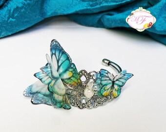 Bracelet blue Butterflies