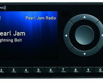 Sirius XM Radio, Docking Station and Portable Speaker