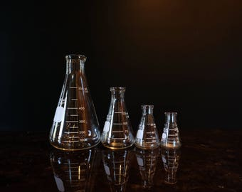 Erlenmeyer Flask Made of Pyrex Glass