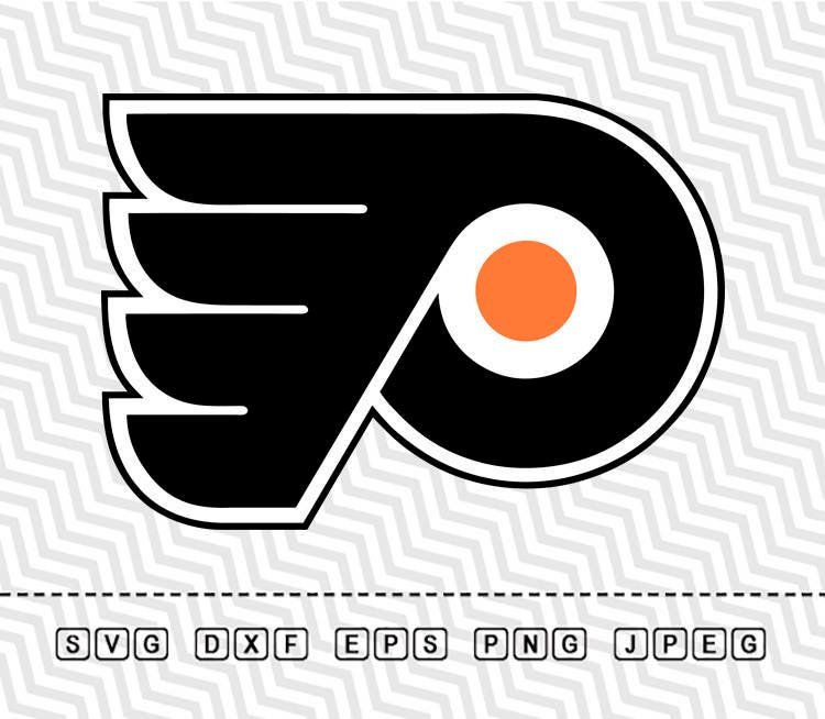 Svg Philadelphia Flyers Logo Vector Layered Cut File Silhouette