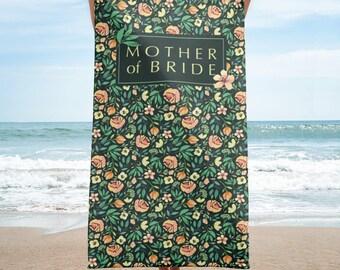 Beach Towel - Italian Garden - green - Mother of the Bride
