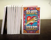 Brave Heart 'Match Book' | Note Book | Plain Paper | 112 Pages | Indian Pop Art Stationery Sketchbook Matchbox Unique Cultural Gift
