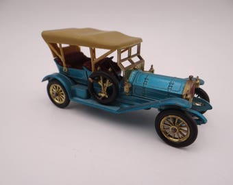 1960s Vintage Lesney Matchbox Y-12 Models of Yesteryear 1909 Thomas Flyabout Die Cast Car - Toy Car