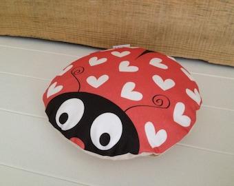 Ladybird Love Bug Cushion