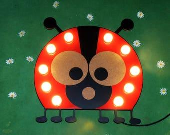 "Sign light ""Giselle the Ladybug"" Just a Spark"