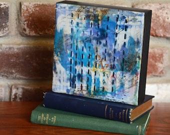 Stories - Original Encaustic Painting, Encaustic Art