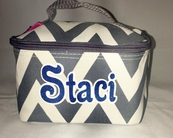Cosmetic bag personalized for cheerleaders, dancers, team gifts, Orlando bound cheerleaders&dancers, Disney bound cheerleaders, dancers