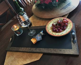 "Chalkboard Serving Tray 24"" x 11"""