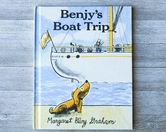 Benjy's Boat Trip   Margaret Bloy Graham   Harper & Row   1977   Hardcover   Vintage Children's Book