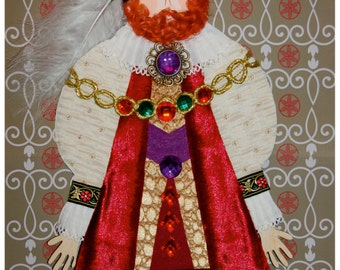 Stick Puppet kit with music! - Henry VIII