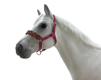 Breyer Horse Braided Leather Noseband Halter
