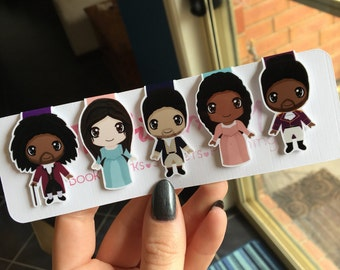 Musical Magnetic Bookmarks