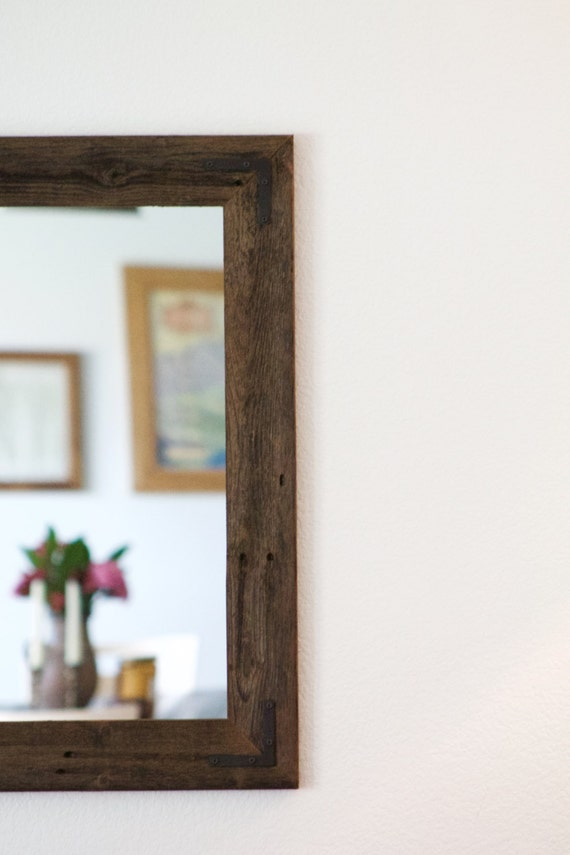 large wall mirror large wood framed mirror large bathroom mirror wall mirror reclaimed wood mirror rustic wood mirror rustic mirror - Wood Frame Mirror