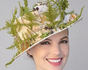 Kentucky Derby Hat, Derby hat, Formal Hat, Unique Hat, Garden Party Hat