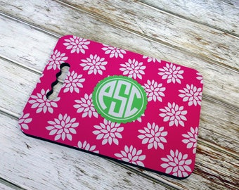 Monogram Garden Knee Pad or Stadium Seat Cushion - Custom Pattern, Color, Name & More - Design Your Own Personalized Gift