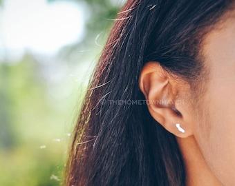California earrings, California map studs, California love