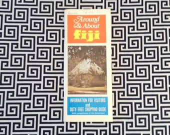 Fun In Fiji~Vintage~Travel Guide~Brochure~Things To Do