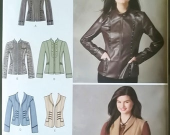 Simplicity 2341 Uncut Sewing Pattern - Five Women Jackets, Sizes 6-14