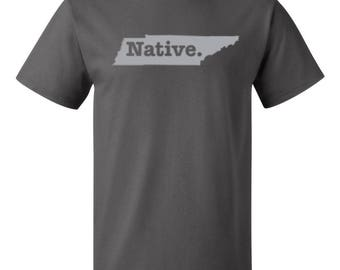 Tennessee Native State - Men's T-shirt