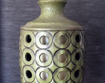 Mid century ceramic swag lamp