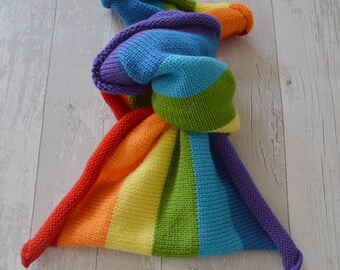 Newborn Rainbow blanket,  rainbow wrap, photo props,