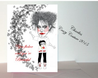 Robert Smith /The cure card