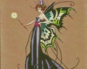 AUGUST PERIDOT FAIRY Complete Stitching Materials