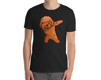 Dabbing Toy Poodle Shirt, Funny Toy Poodle Dog Dab Dance Move T-Shirt, Cute Toy Poodle Gift